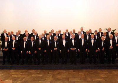 Het koor Laudate Deum, foto door Alida Bosma